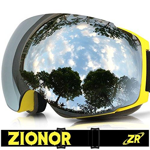 Gafas esquí, ZIONOR Lagopus X4 Snowboard Skate Gafas