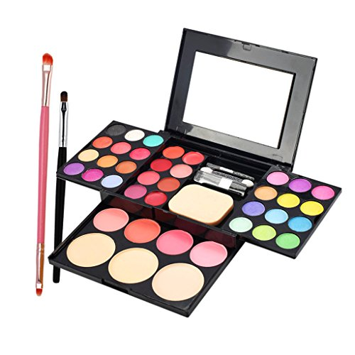 Sharplace Kit de Maquillage avec Pinceau de Maquillage Set Eyeshadow Rouge à lèvres Lip Concealer Makeup Palette Set