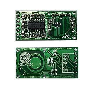 Hrph RCWL-0516 Mikrowellen-Radar-Sensor-Modul Menschlicher Körper Induktion Switch Module Lntelligent Sensor