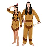 Arapaho Indianerinkostüm - Indianer Kostüm Damen Indianerkostüm Frauen Indianerin Squaw Indianerfrau Indianerkleid