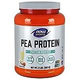 NOW Foods - ORA Caramella della vaniglia della polvere della proteina di piselli di sport - 2Libbre