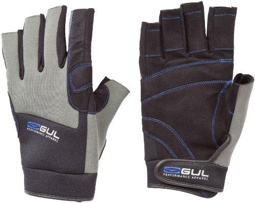 GUL Kinder Short Finger Handschuhe Winter schwarz Schwarz/Charcoal M