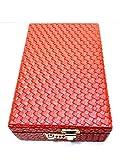 Girija RED Large Jewelry Storage Box