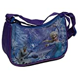Star  Disney Frozen Art. Code- 42979, Borsa e Borsetta Laterale Svasato Spalla, Dimensioni: 18 x 6 x 13 cm