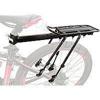 comingfit® 75kg Kapazität Einstellbare Fahrrad Gepäck Cargo Rack-Super Starke Upgrade Fahrrad Gepäckträger 4-Strong-Leg Fahrrad Cargo Carrier
