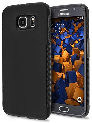 mumbi double GRIP Hülle für Samsung Galaxy S6 / S6 Duos Schutzhülle schwarz