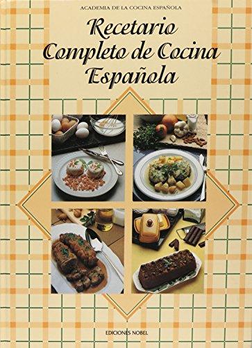 Descargar Libro Recetario completo de cocina española de Academia de La Cocina Espanola