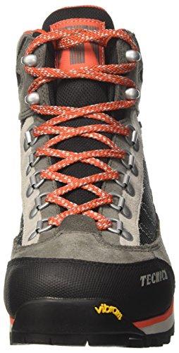 Tecnica Makalu Iii Gtxョ Ms, chaussures de marche homme Multicolore (Canna Fucile/Arancio)