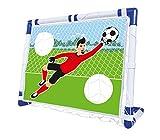 Simba 107402138 Fußball Tor mit Torwand und Netz