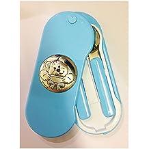 Oranizador de cubiertos de bebé plexiglás y bilamina/2R Argenti plateado, ...