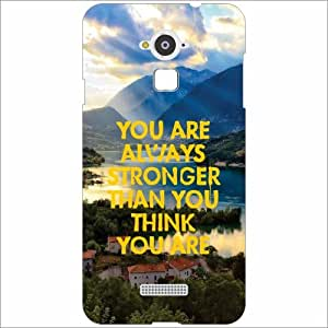 Coolpad Note 3 Back Cover - Silicon Always Stronger Designer Cases