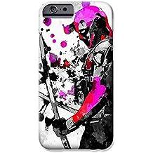 """iPhone 7 Deadpool Arte de Fan Estuche de Silicona / Cubierta de Gel para Apple iPhone 7 (4.7"""") / Protector de Pantalla y Paño / iCHOOSE / Espadas - Colores"""