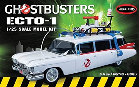 Polar Lights Ghostbusters Ecto-1 Snap Together Model Kit by Polar Lights