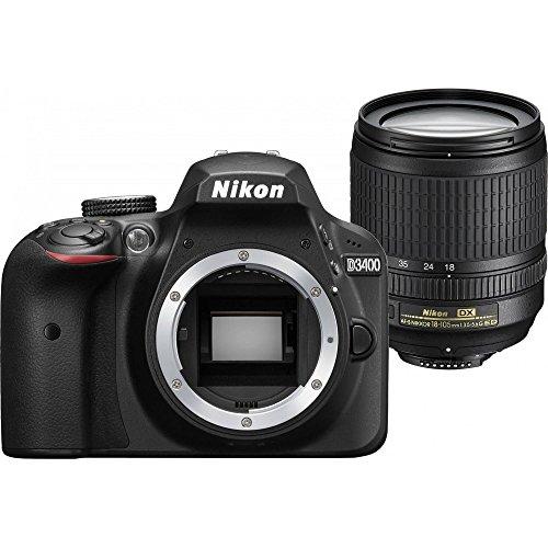 Galleria fotografica Nikon D3400 18-105 - Fotocamera Reflex 24.2 Mpix, Kit Obiettivo 18-105 VR