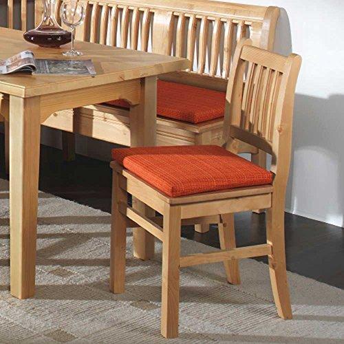 Pharao24 Stuhl Küchenstuhl 2er SET Rusti Fichte massiv
