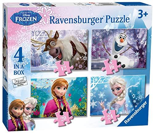 Ravensburger 07360 Frozen 4 Puzzle 12/16/20/24 Teile
