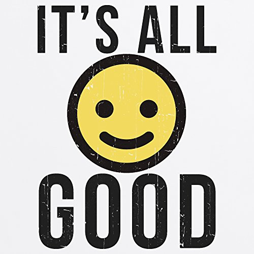 Official Two Tribes Emoji - It's All Good T-Shirt, Herren Wei