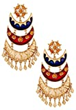 The jewelbox Designer Gold Plated Meenak...