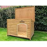 Pets Imperial® Extra Large Insulated Wooden Norfolk Dog Kennel With Removable Floor For Easy Cleaning 14