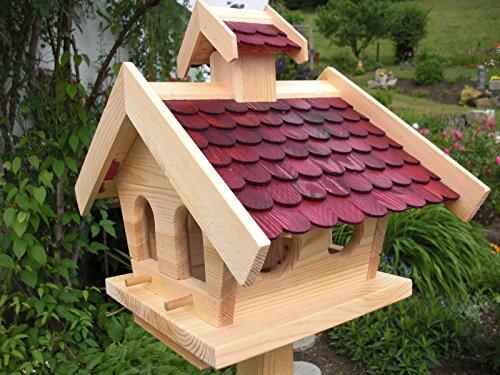 Vogelhaus-XL - Vogelhäuser-(V013)- Vogelfutterhaus Vogelhäuschen-aus Holz
