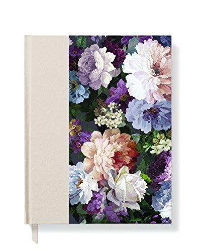 Fransen Studio Classic Rose Hardcover Tagebuch, gebunden, 16,5x 23,5cm 192linierte Seiten (897004) (Seite Fringe)