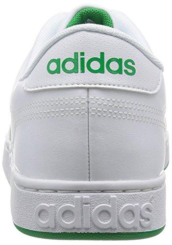 adidas Courtset, Scarpe Low-Top Uomo Bianco (Ftwwht/Ftwwht/Green)
