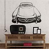autocollant mural sticker mural Espagnol Mercedes-Benz 300 Sl Pour Salon Chambre Voitures Chambre
