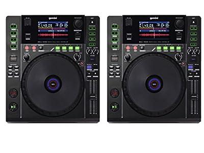 2 x Gemini MDJ-1000 Professional Media DJ CD Player USB MP3 Deck CDJ PAIR