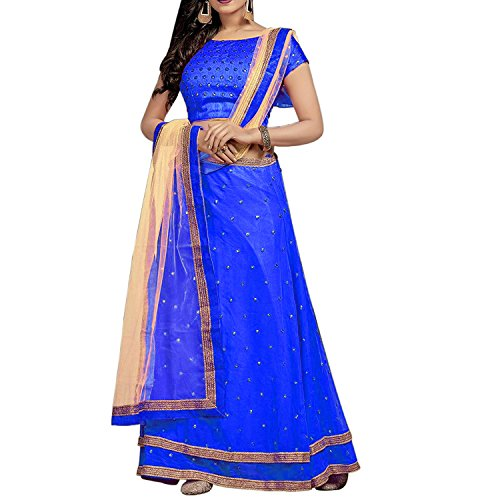Market Magic World Women's Georgette Semi Stitched Ethnic Wear Lehenga Choli (lehengas...
