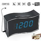 TEKMAGIC 16GB 1920x1080P HD Inalámbrico WiFi Red Reloj Cámara Espía Detective de Movimiento de la...