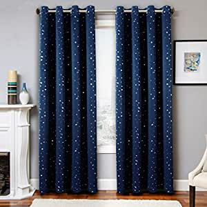 h versailtex winter warm protecting printed eyelet pair blackout microfiber curtains for. Black Bedroom Furniture Sets. Home Design Ideas