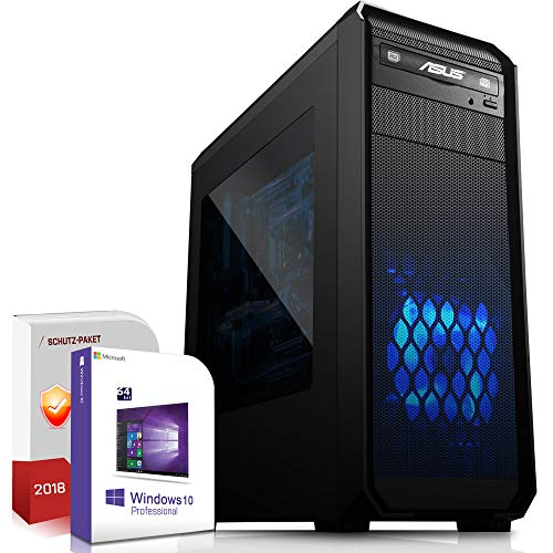Multimedia Gaming PC AMD FX-8300 8x4.2GHz Turbo |ASUS Board|16GB DDR3|512GB SSD|Nvidia GTX1050Ti 4GB 4K HDMI|USB 3.0|SATA3|Windows 10 Pro|Made in Germany|3 Jahre Garantie