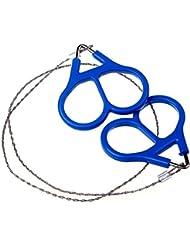 Babysbreath Acero inoxidable mano bolsillo sierras de cable de cadena portátiles de supervivencia camping handsaws