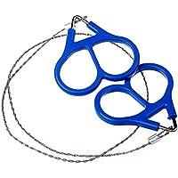 Bobury Acero inoxidable mano bolsillo sierras de cable de cadena portátiles de supervivencia camping handsaws