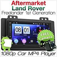 Tunez Android Car Player For Land Rover Freelander 1 L314 MP3 Stereo Radio Head Unit