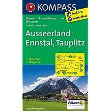 Ausseerland - Ennstal - Tauplitz: Wanderkarte mit Aktiv Guide, Radwegen und alpinen Skirouten. GPS-genau. 1:50000 (KOMPASS-Wanderkarten, Band 68)