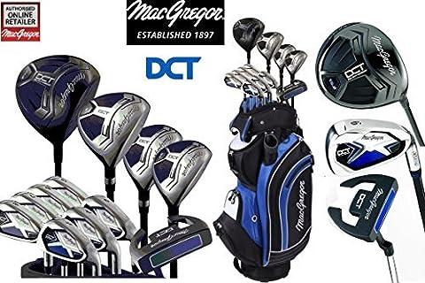 MacGregor DCT All Graphite Men's Golf Package Set Cart Bag