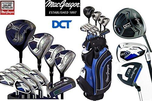 MacGregor Set de golf Graphite DCT tous les hommes de Chariot Sac & parapluie Society Tee Pack