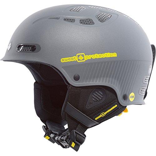 Sweet Protection Helmet Igniter MIPS, Matte Gray Metallic, S/M, 840007 (Carbon Freeride Ski)