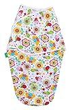 LULANDO Ganzkörper Pucksack Pucktuch Strampelsack aus 100% Baumwolle, von Hebammen empfohlen, Öko-Tex Standard 100, Farbe: Colored Bees