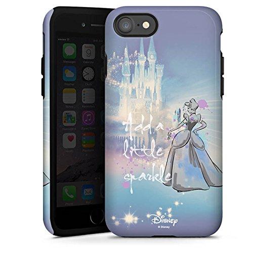 Apple iPhone X Silikon Hülle Case Schutzhülle Disney Cinderella Geschenke Fanartikel Tough Case glänzend