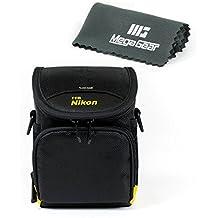 MegaGear Funda Protectora  para Nikon 1 S1, Nikon 1 J4, Nikon 1 J5, Nikon P7800, Nikon L830, L840, Nikon P530