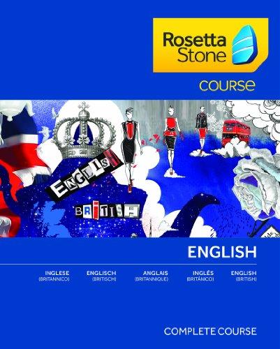 Rosetta Stone Course - Komplettkurs Englisch (Britisch) für Mac [Download]