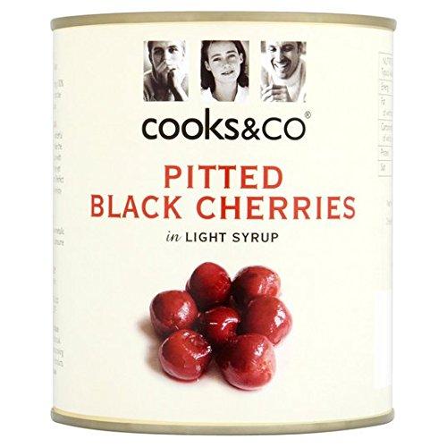 Cooks & Co dénoyautées cerises noires 850g