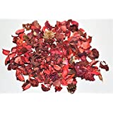 Pure Source India Highly Fragrance Potpourri Loose 250 Gram Pack (Rose) Dry Flower (Rose Potpourri, 250 Gram)