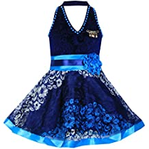 Mpc Cute Fashion Kids Girls Baby Dress for Princess Velvet and Soft Net Frock Dress for