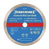 Silverline 361323 Disco de Corte para Mini Sierra Circular, Plata
