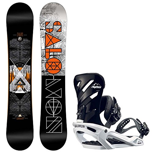 Herren Snowboard Set Salomon Sight 150 + Rhythm 2017