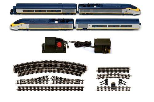 Hornby Eurostar Gauge Electric Train Set, Multi Color