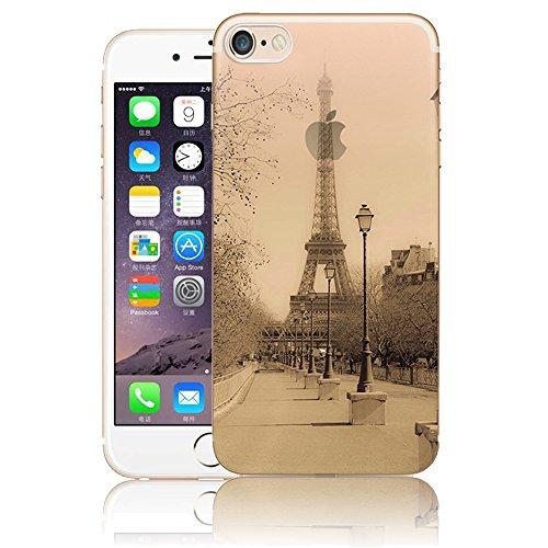 iPhone 5S SE silicone Coque,iPhone 5S SE TPU Coque Soft Case Cover,Vandot Paysage Creative Painting Peinture Housse de téléphone pour iPhone 5S SE Silicone modèle Cas pour iPhone 5S SE TPU Doux Silico ABC-24